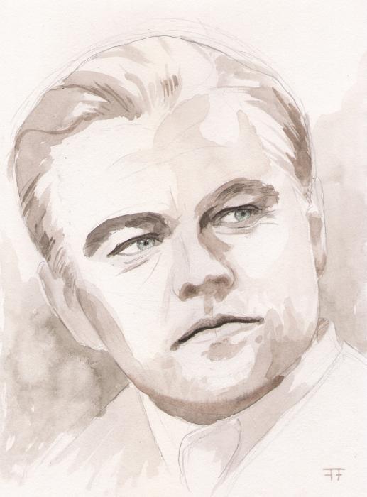 Leonardo DiCaprio by alba